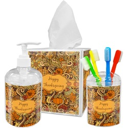 Thanksgiving Acrylic Bathroom Accessories Set