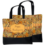 Thanksgiving Beach Tote Bag (Personalized)