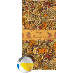 Thanksgiving Beach Towel (Personalized)
