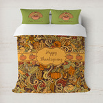 Thanksgiving Duvet Cover
