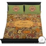 Thanksgiving Duvet Cover Set (Personalized)
