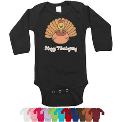 Thanksgiving Bodysuit - Long Sleeves - 12-18 months (Personalized)