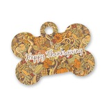 Thanksgiving Bone Shaped Dog Tag (Personalized)