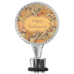Thanksgiving Wine Bottle Stopper (Personalized)