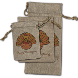 Thanksgiving Burlap Gift Bags