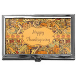 Thanksgiving Business Card Case