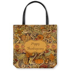 Thanksgiving Canvas Tote Bag (Personalized)