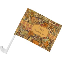 Thanksgiving Car Flag (Personalized)
