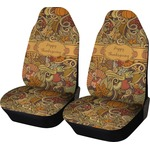 Thanksgiving Car Seat Covers (Set of Two) (Personalized)