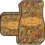Thanksgiving Car Floor Mats (Personalized)
