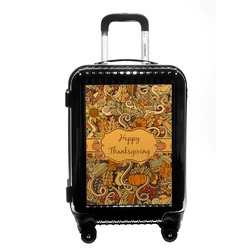 Thanksgiving Carry On Hard Shell Suitcase (Personalized)