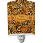 Thanksgiving Ceramic Night Light (Personalized)