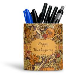 Thanksgiving Ceramic Pen Holder