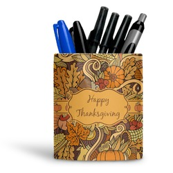 Thanksgiving Ceramic Pen Holder