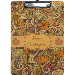 Thanksgiving Clipboard (Personalized)