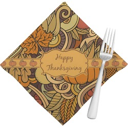 Thanksgiving Cloth Napkins (Set of 4) (Personalized)