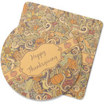 Thanksgiving Rubber Backed Coaster (Personalized)