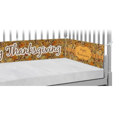 Thanksgiving Crib Bumper Pads (Personalized)