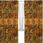 Thanksgiving Curtains (2 Panels Per Set) (Personalized)