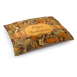Thanksgiving Dog Pillow Bed (Personalized)