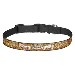 Thanksgiving Dog Collar - Multiple Sizes (Personalized)