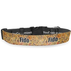 Thanksgiving Deluxe Dog Collar (Personalized)