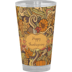 Thanksgiving Drinking / Pint Glass (Personalized)