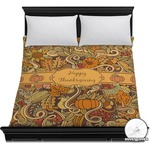 Thanksgiving Duvet Cover (Personalized)