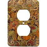 Thanksgiving Electric Outlet Plate (Personalized)
