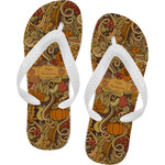 Thanksgiving Flip Flops (Personalized)