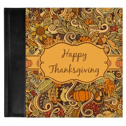 Thanksgiving Genuine Leather Baby Memory Book (Personalized)
