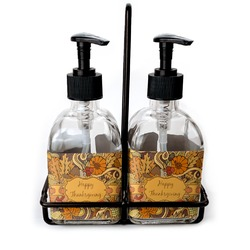 Thanksgiving Soap/Lotion Dispensers (Glass) (Personalized)