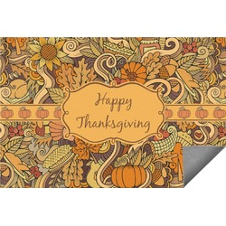 Thanksgiving Indoor / Outdoor Rug (Personalized)