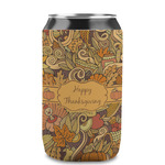 Thanksgiving Can Sleeve (12 oz) (Personalized)