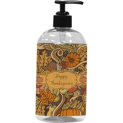 Thanksgiving Plastic Soap / Lotion Dispenser (Personalized)