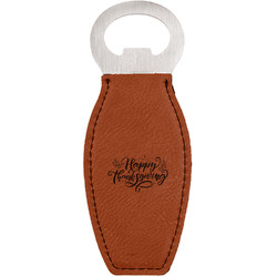 Thanksgiving Leatherette Bottle Opener (Personalized)