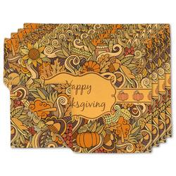 Thanksgiving Linen Placemat