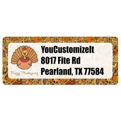 Thanksgiving Return Address Labels (Personalized)