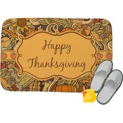 Thanksgiving Memory Foam Bath Mat (Personalized)