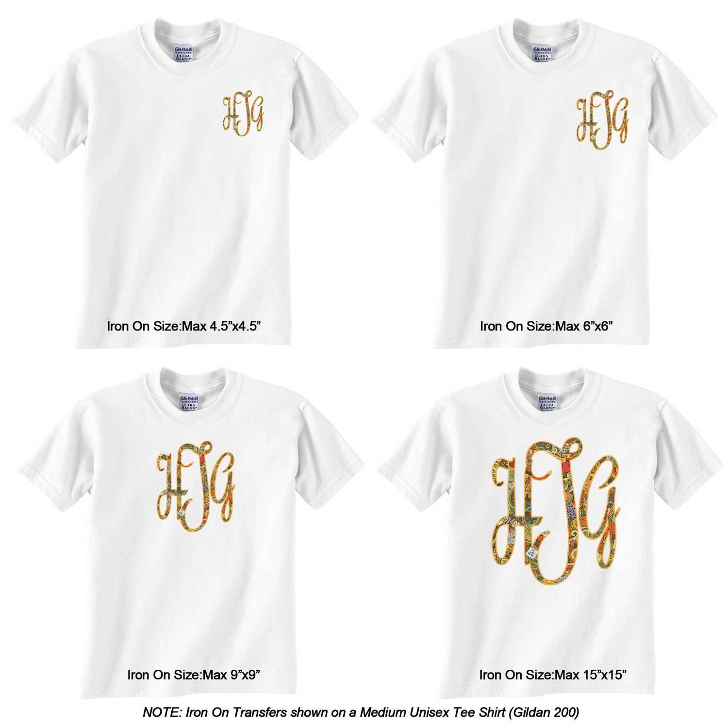 Design your own t-shirt iron on transfer - Thanksgiving Monogram Iron On Transfer Personalized Thanksgiving Monogram Iron On Transfer Thanksgiving Monogram Iron On Transfer Sizes On Tee Shirt