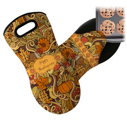 Thanksgiving Neoprene Oven Mitt (Personalized)