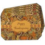 Thanksgiving Dining Table Mat - Octagon