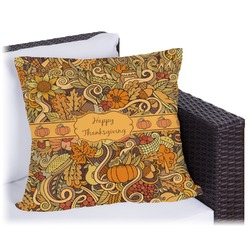 Thanksgiving Outdoor Pillow (Personalized)