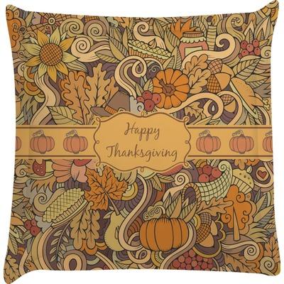 Thanksgiving Euro Sham Pillow Case (Personalized)