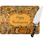 Thanksgiving Rectangular Glass Cutting Board (Personalized)