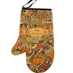 Thanksgiving Left Oven Mitt (Personalized)