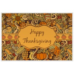 Thanksgiving Placemat (Laminated) (Personalized)