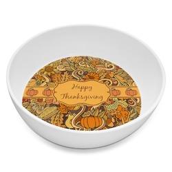 Thanksgiving Melamine Bowl 8oz (Personalized)