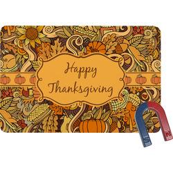 Thanksgiving Rectangular Fridge Magnet (Personalized)
