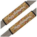 Thanksgiving Seat Belt Covers (Set of 2) (Personalized)